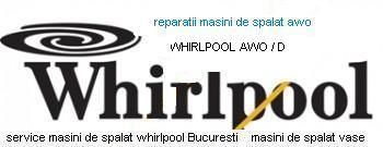 Reparatii masini de spalat whirlpool